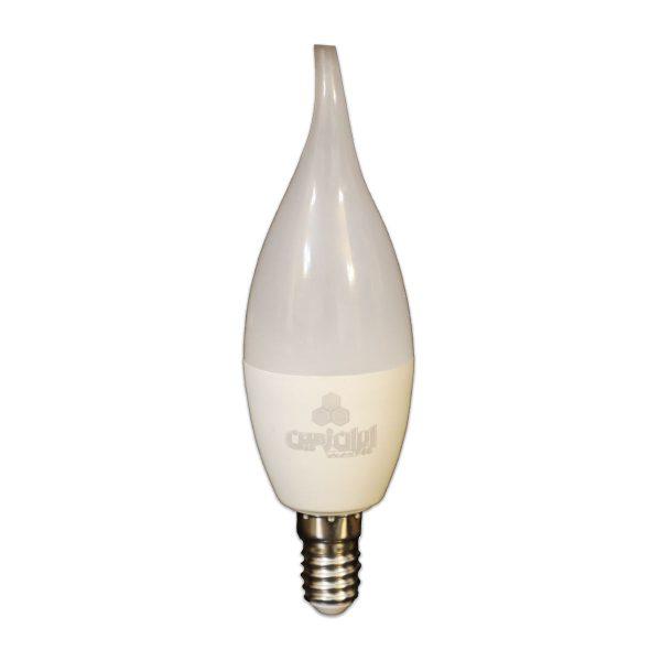 لامپ ال ای دی 7 وات ایران زمین مدل اشکی پایه E14