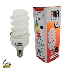 لامپ 13 وات فول پیچی E14 آیلا