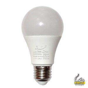 لامپ 9 وات ال ای دی تیراژه