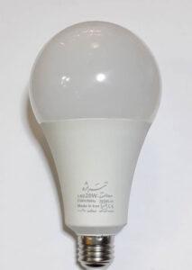 لامپ حبابی 20 وات تیراژه
