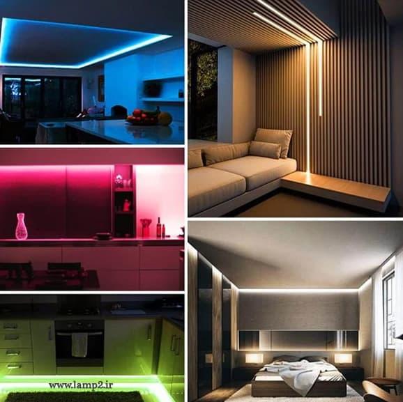 نقش ریسه شلنگی در نورپردازی ساختمان