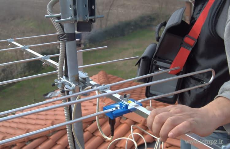 بازده دریافت و کیفیت سیگنال به شرایط زیر بستگی دارد